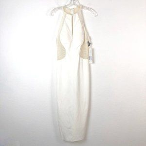 Jovani Maslavi IVORY WHITE  Dress - Size 4
